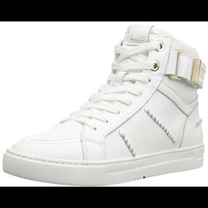 Aldo Cassis Size 10 High Tops w/gold accents
